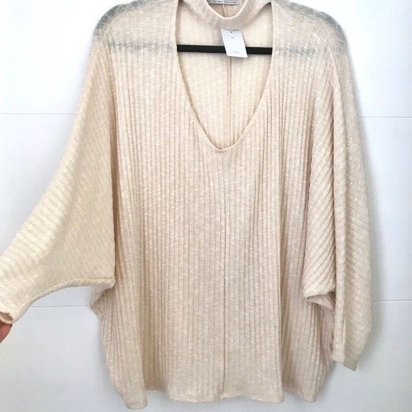 Urban Outfitters Tops - Urban Outfitters Keyhole Knit Top